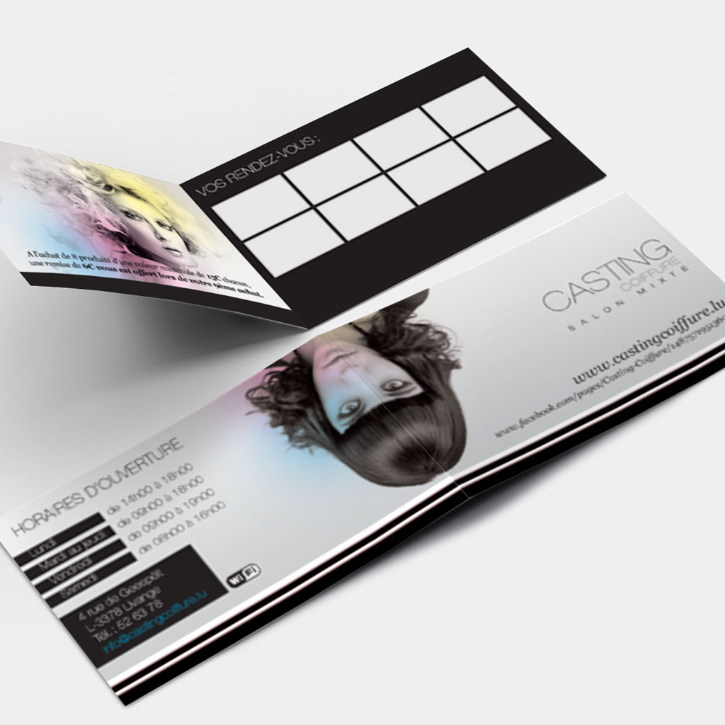 cartes de fid lit push the print s rl. Black Bedroom Furniture Sets. Home Design Ideas