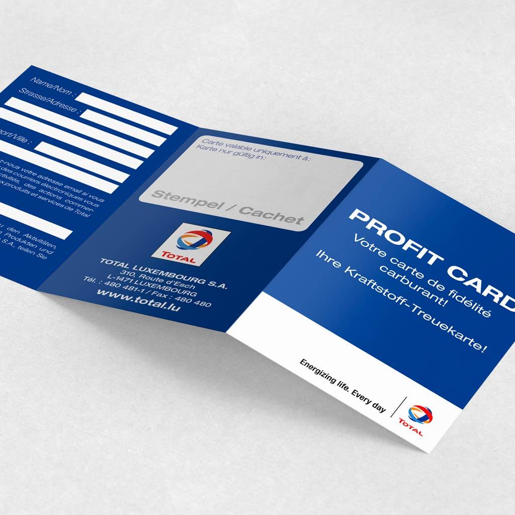carte de fidélité total Cartes de fidélité – Push The Print Sàrl